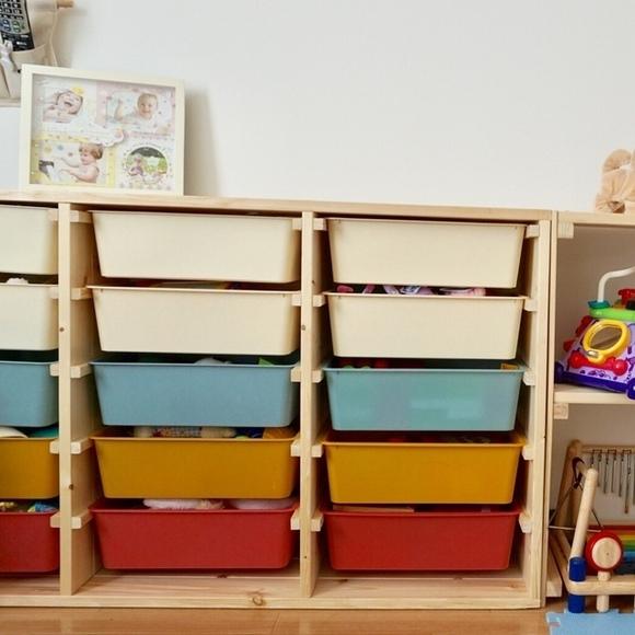 DIYで作るおもちゃ収納2
