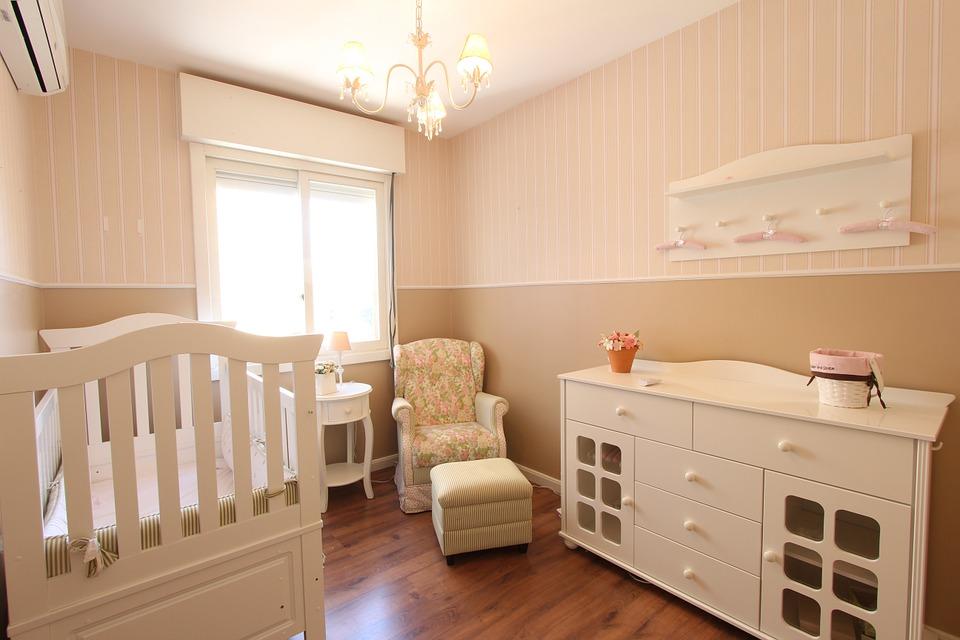 赤ちゃんのお部屋 壁紙
