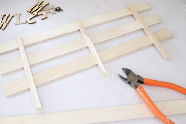 ウェルカムボードの作り方1