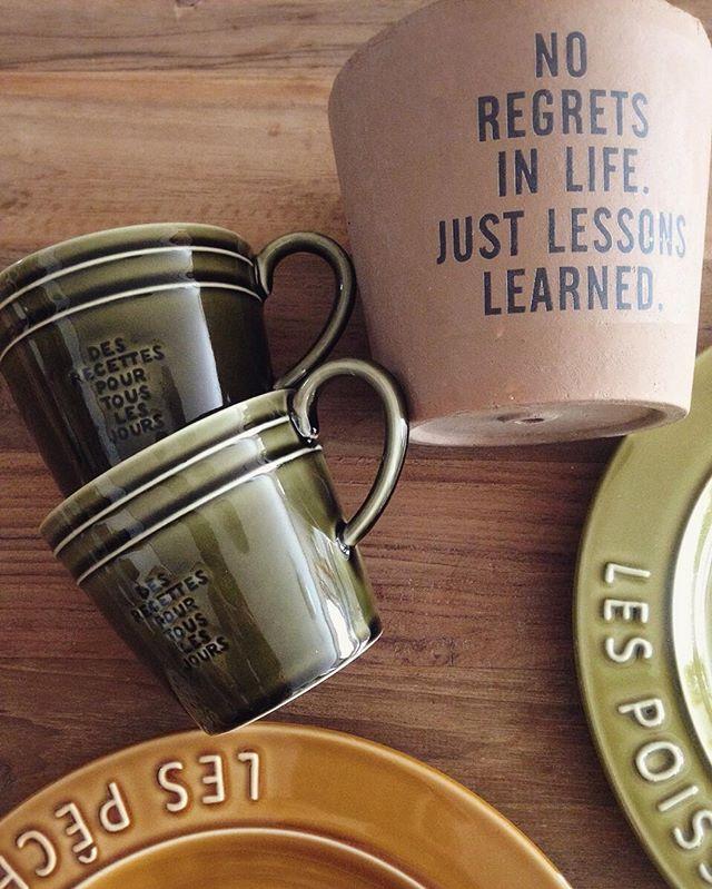 渋くて可愛いマグカップ