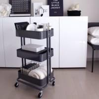 【IKEA】のRASKOGワゴンがすごい!家中どこでも使える便利ワゴンの活用アイデア