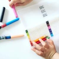 子ども部屋やリビングにオススメ♪【100均】アイテムでできる文房具収納!