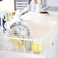洗った食器をどう置こう?そうお悩みの方へご紹介したい、水切りかごの設置実例集!
