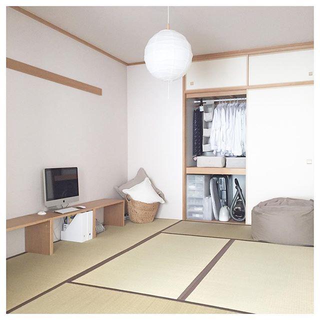 心地いい空間が楽しめる和室インテリア2