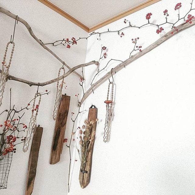 ドライフラワーを素敵に飾るアイデア10