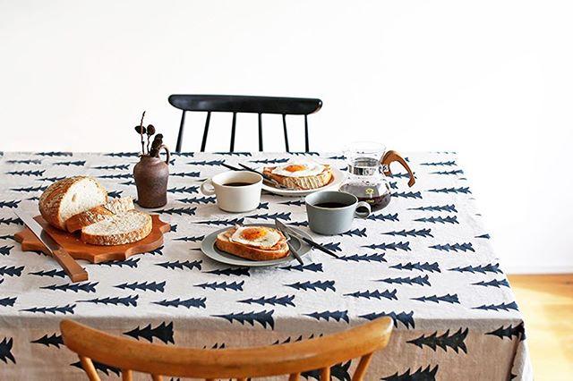 北欧製のテーブルクロス