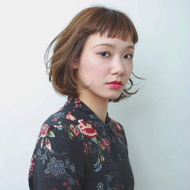 オンザ眉毛(ぱっつん)