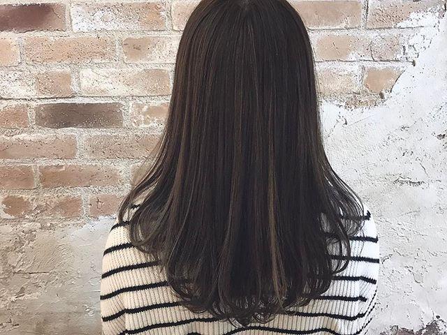 暗髪スタイル5