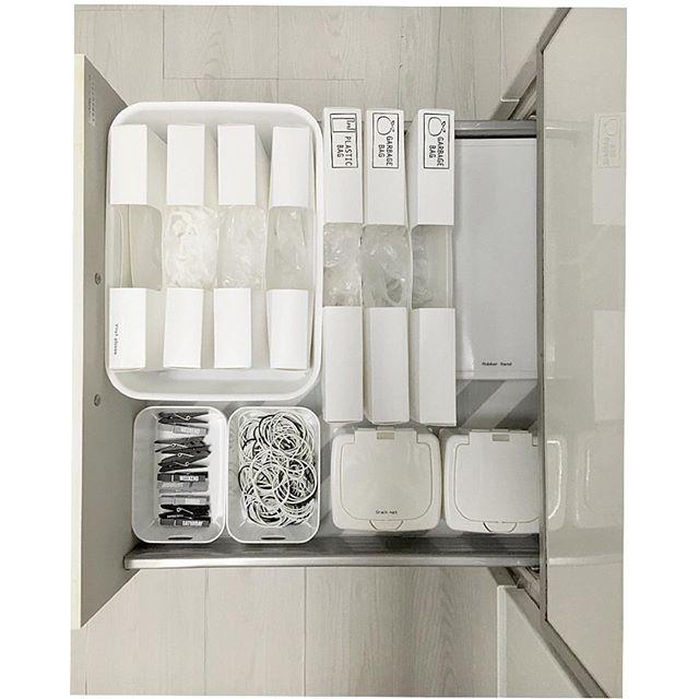 キッチン消耗品収納ケース5