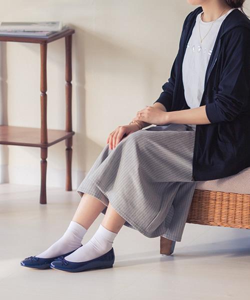 靴下×バレエシューズ8