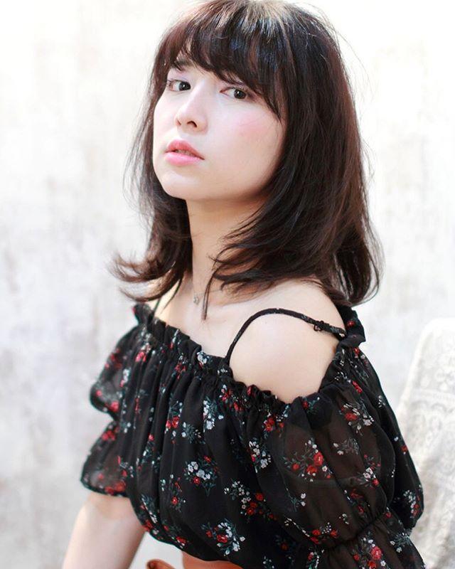 暗髪スタイル10