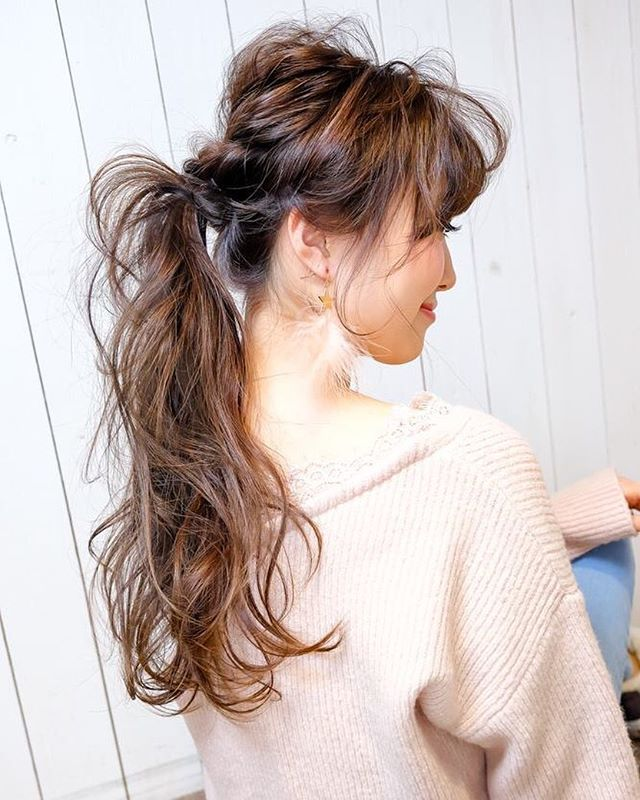 秋冬にも似合うまとめ髪アレンジ5