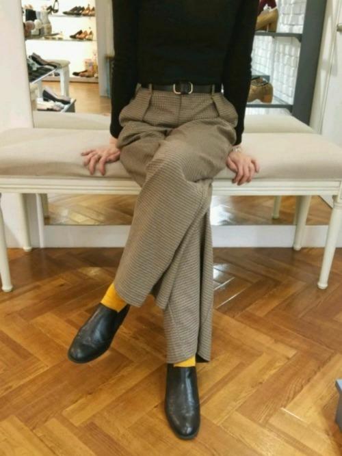 靴下×ブーティ5