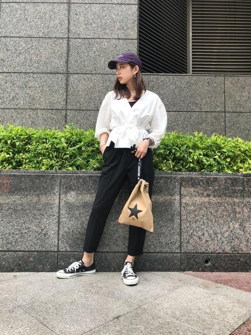 [CONVERSE TOKYO] CONVERSE TOKYO/コンバーストウキョウ ツイルロゴBB CAP