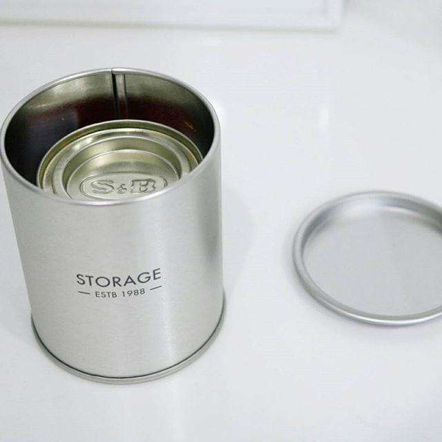 ストレージ缶(セリア)