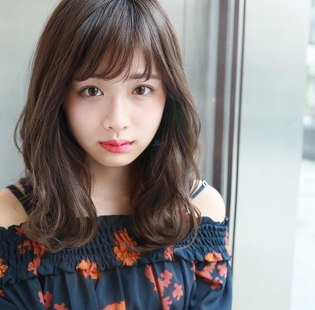 暗髪スタイル6