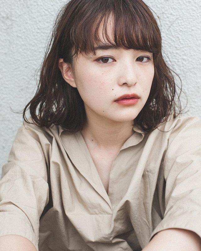 ぱっつん風前髪4