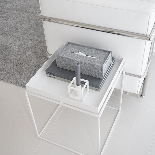 ワッツの組み立て式のフェルトテッシュボックスケース2