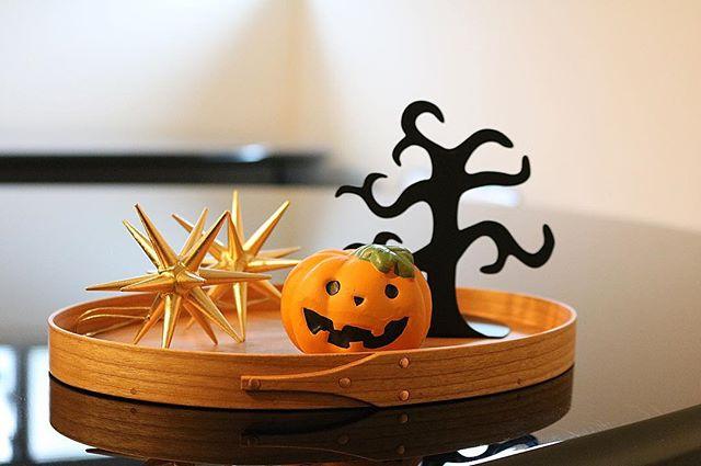 かぼちゃのオブジェ