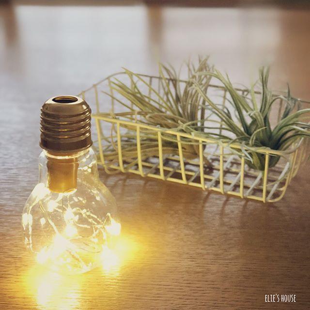 電球型LEDオーナメントdiy