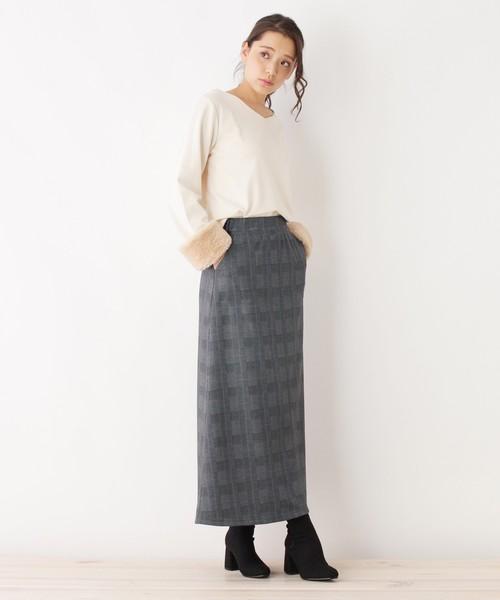 ウラシャギーロングスカート