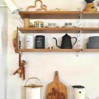 オシャレ棚を賢く活用して♪使いやすい海外風のキッチンを目指そう!