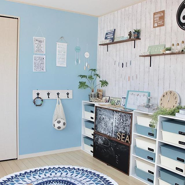 子供部屋収納35