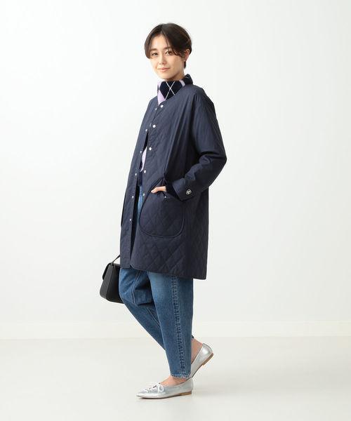 [BEAMS WOMEN] ORCIVAL / キルティング コート1
