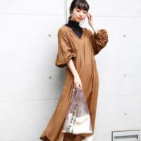 大人可愛い【LOWRYS FARM】のワンピース&ジャンパースカート☆秋の休日コーデ集