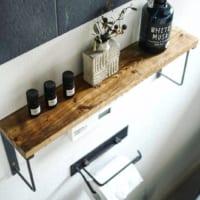 トイレの棚をもっとおしゃれに☆棚の使い方&収納方法を多数ご紹介♪