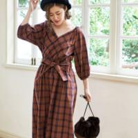 モードなデザインで女性らしく。旬のカシュクールデザインの秋スタイル15選♡