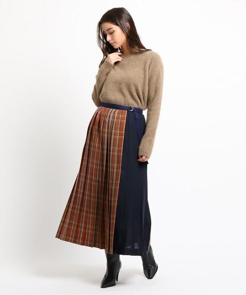 チェックケルトスカート