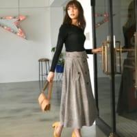 自分らしいスタイルを楽しむ「Andemiu」☆大人女性なワンピース&スカート特集