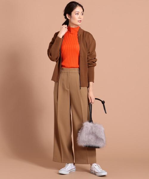 Compact Wool Ester ニットブルゾン