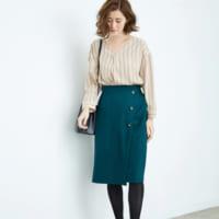 こっくりカラーが大人っぽい♡【グリーン】で作る秋コーデを紹介!