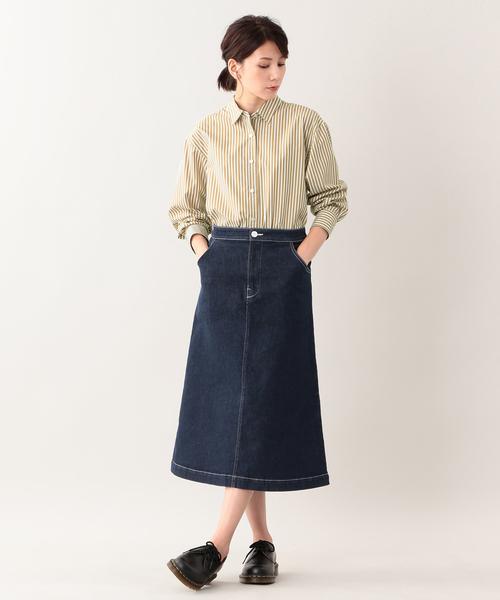 [MACKINTOSH PHILOSOPHY] コットンレギュラーカラーシャツ