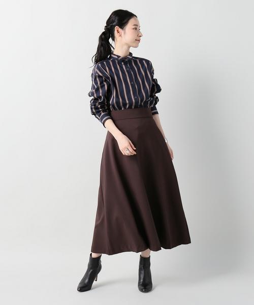 [LIMITLESS LUXURY] オータム ストライプシャツ