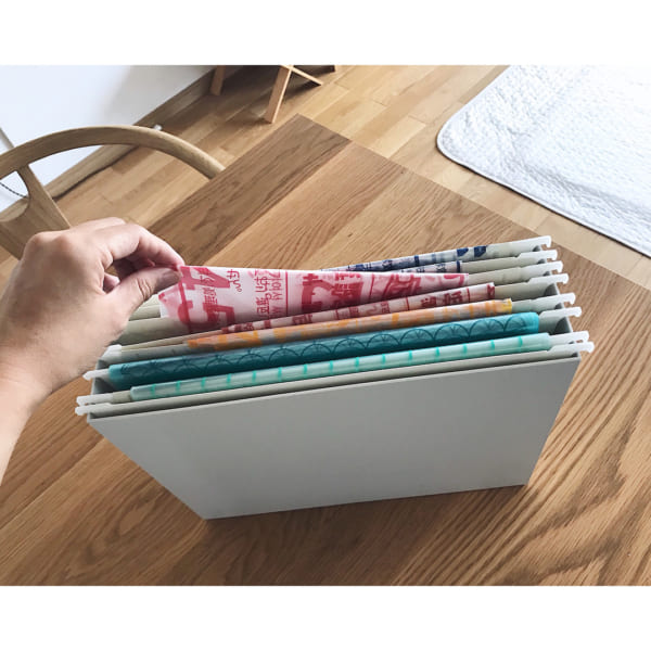 無印良品のファイルボックスを活用した収納アイデア3