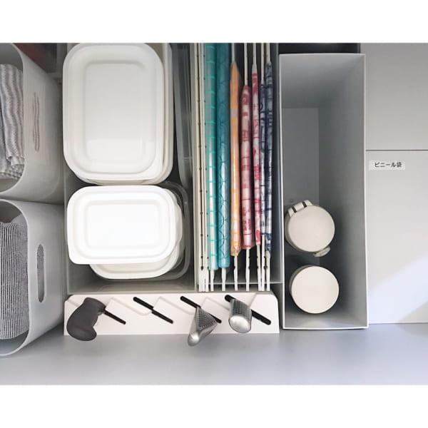 無印良品のファイルボックスを活用した収納アイデア2