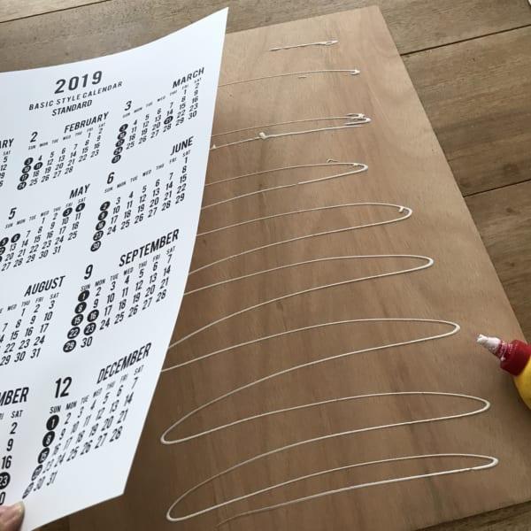 セリアのカレンダー3