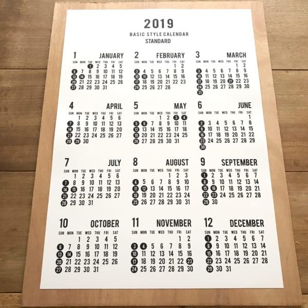 セリアのカレンダー4