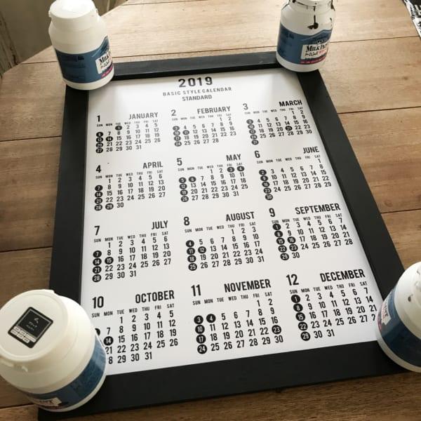 セリアのカレンダー6
