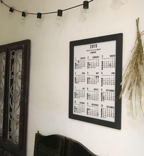 セリアのカレンダー10