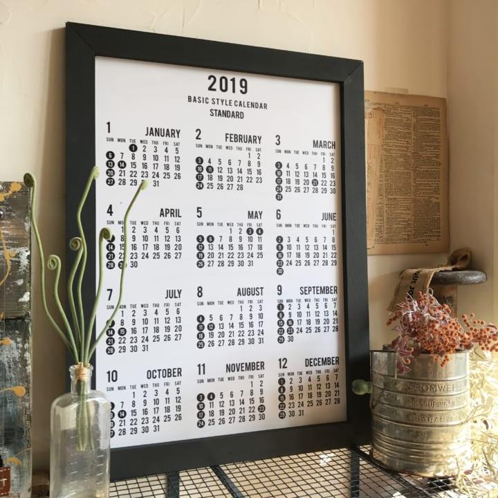 セリアのカレンダー11