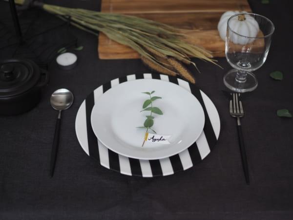 テーブルコーディネートの印象を左右するお皿