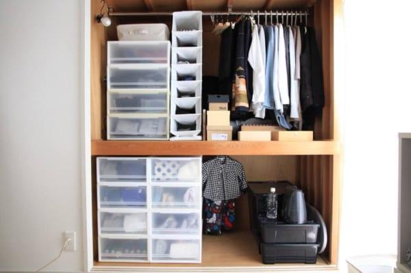 押入れでの衣類収納に使えるアイテム6