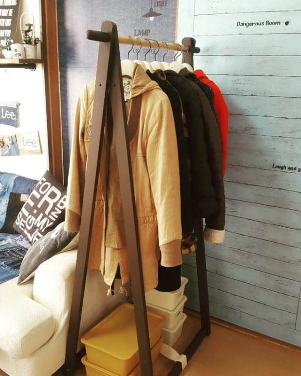 コート収納③その他のコートの収納実例2