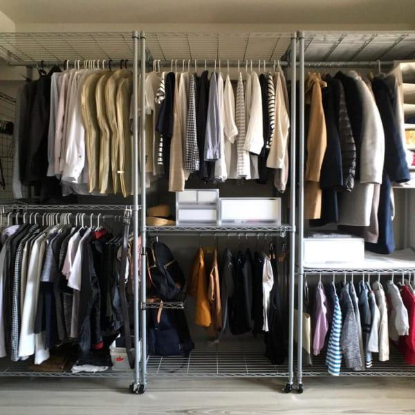コート収納③その他のコートの収納実例3