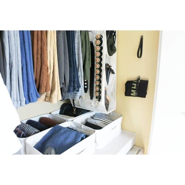 クローゼットでの衣類収納に使えるアイテム3
