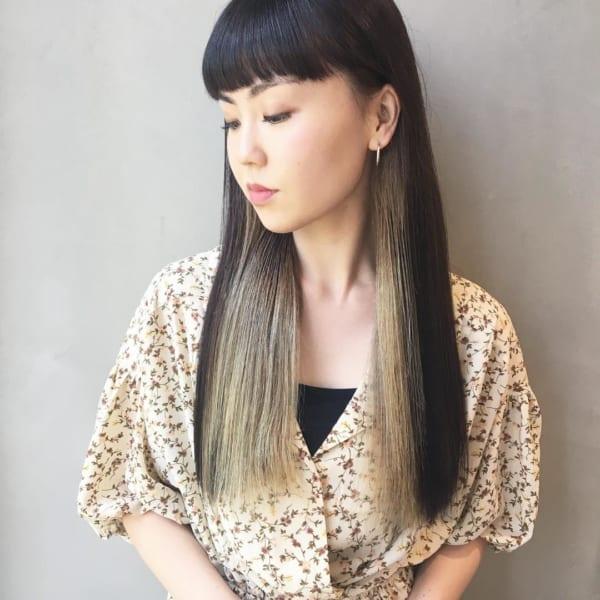 【長さ別】ぱっつん前髪ヘアスタイル